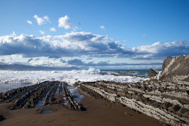Europa, España, Itzurun, Playa de Sant Telmo - foto de stock
