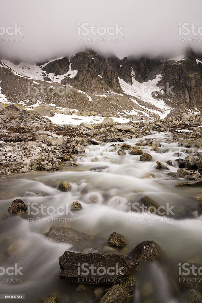 European Alps royalty-free stock photo