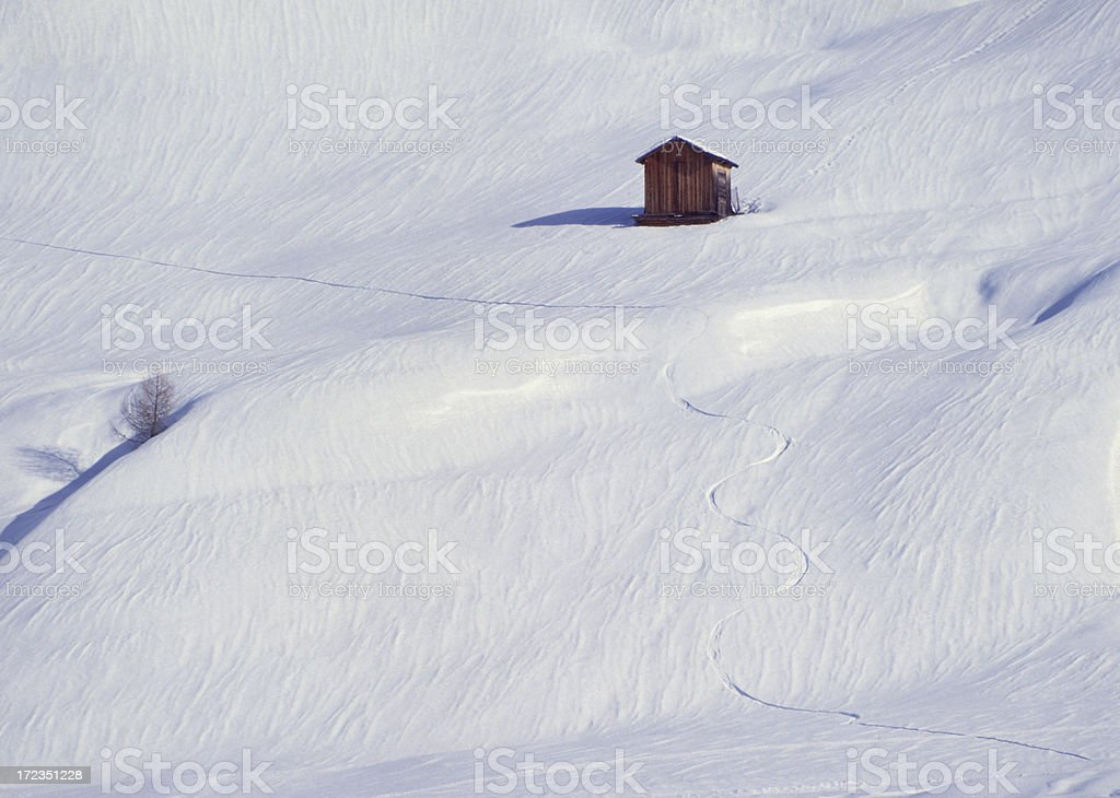 Alpes europeos foto de stock libre de derechos