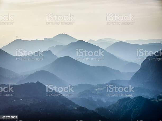 European Alpen Stockfoto und mehr Bilder von Abenddämmerung