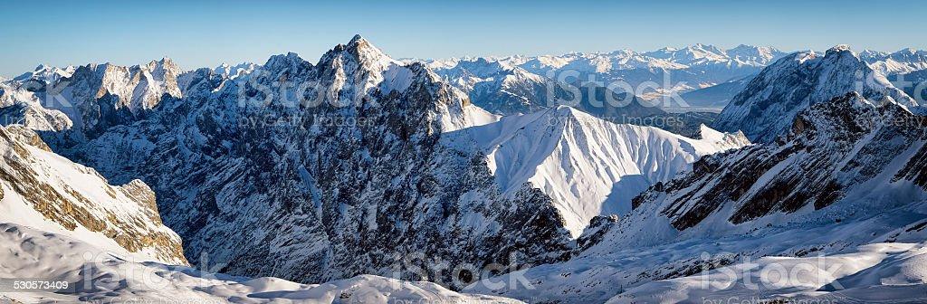 european alps stock photo