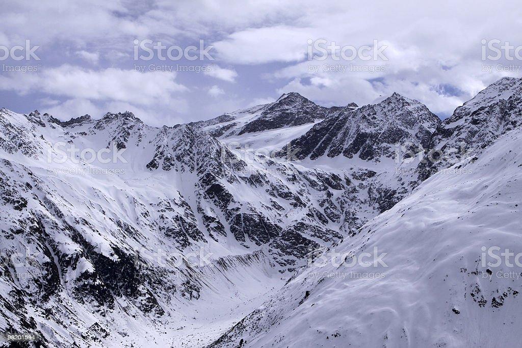 알프스 산맥 royalty-free 스톡 사진