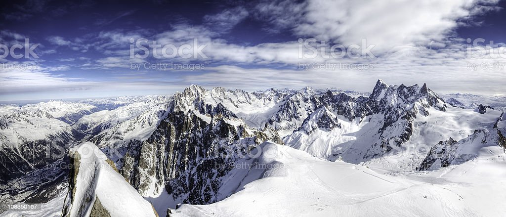 European Alps XXL stock photo
