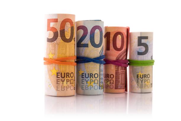 Europäischer Banknoten – Foto