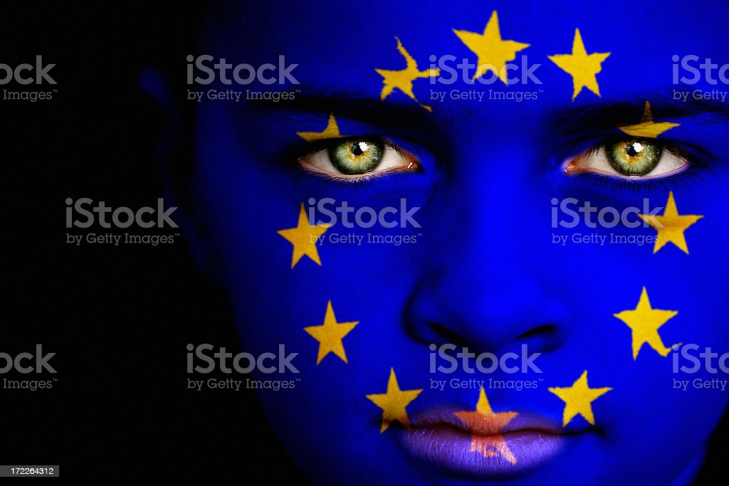 European boy royalty-free stock photo