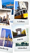European capitals holiday pictures