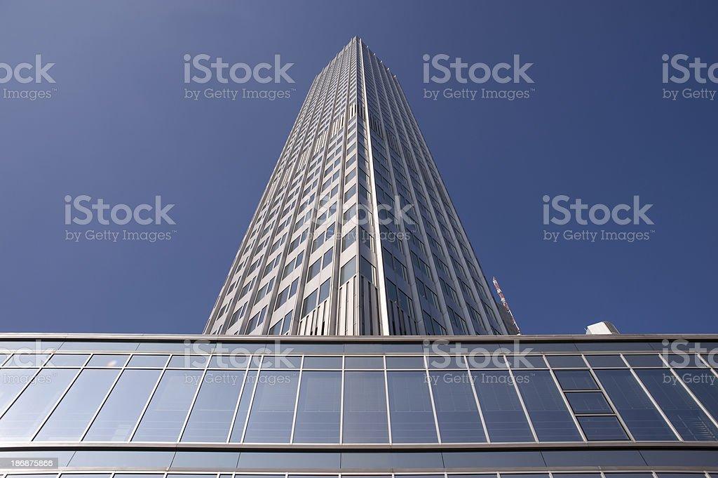 European Central Bank, EZB, ECB royalty-free stock photo