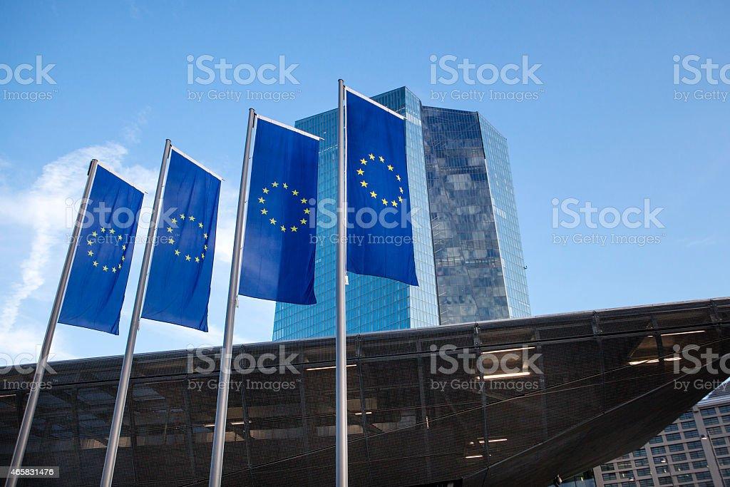 EZB, die Europäische Zentralbank in Frankfurt, Deutschland – Foto