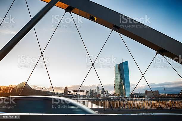 Ezb Den Ezb Die Europäische Zentralbank In Frankfurt Stockfoto und mehr Bilder von Europäische Zentralbank