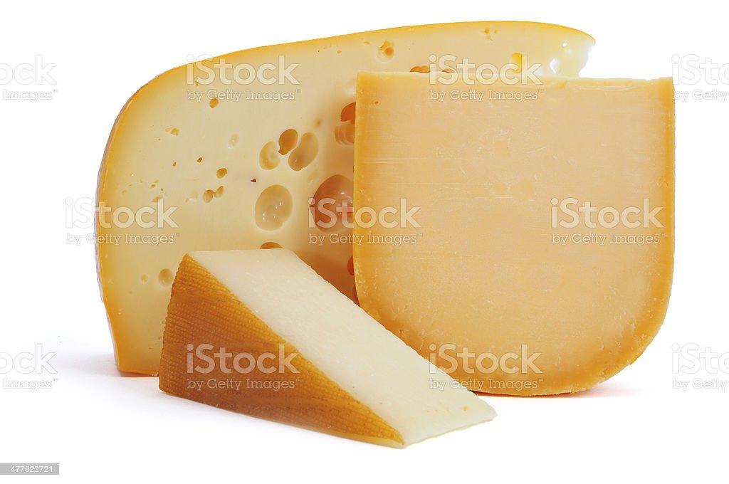 european cheese assortment stock photo