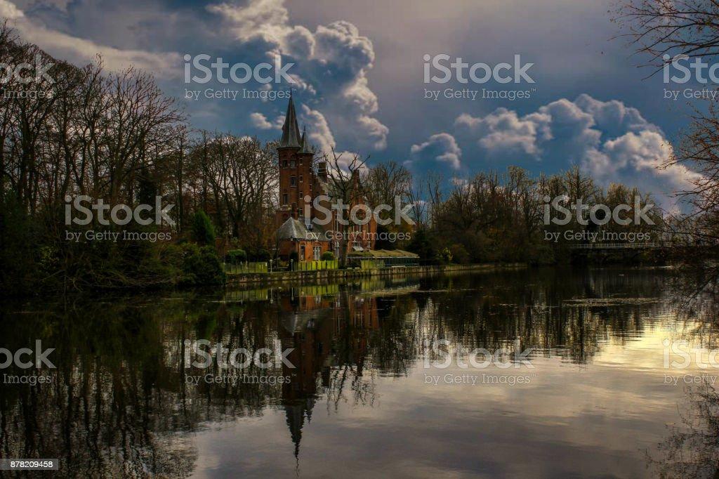 European Cities - Belgium Bruges stock photo