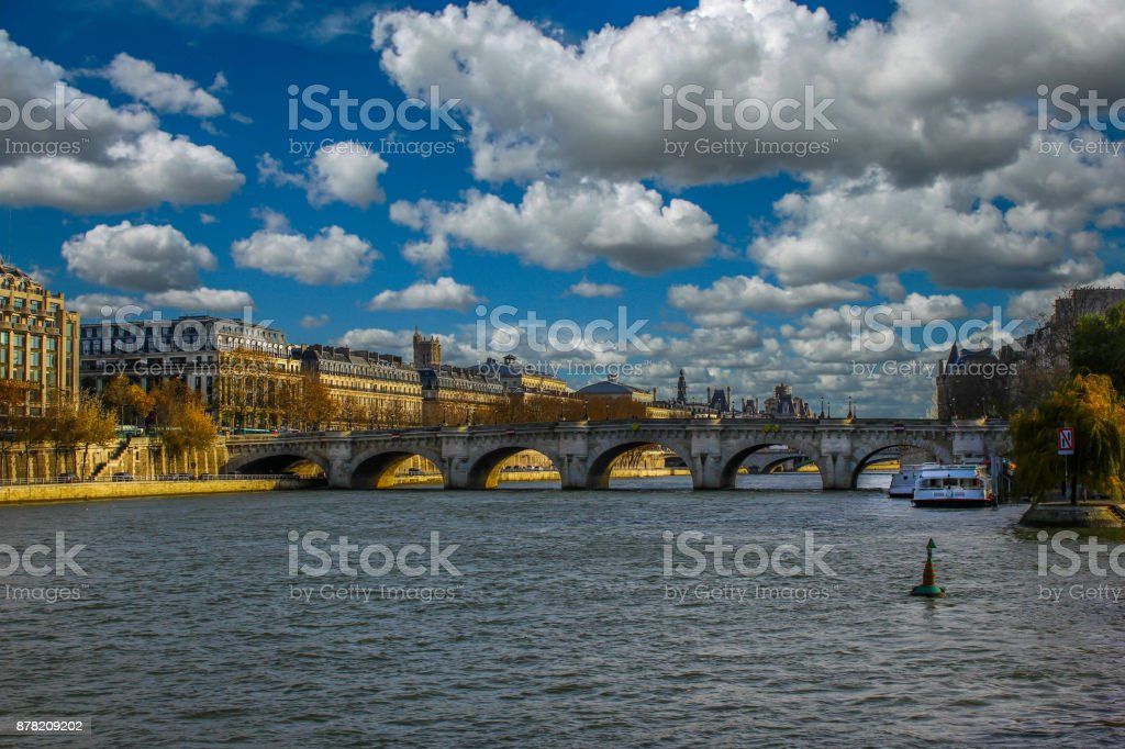 European Cities - France Paris stock photo