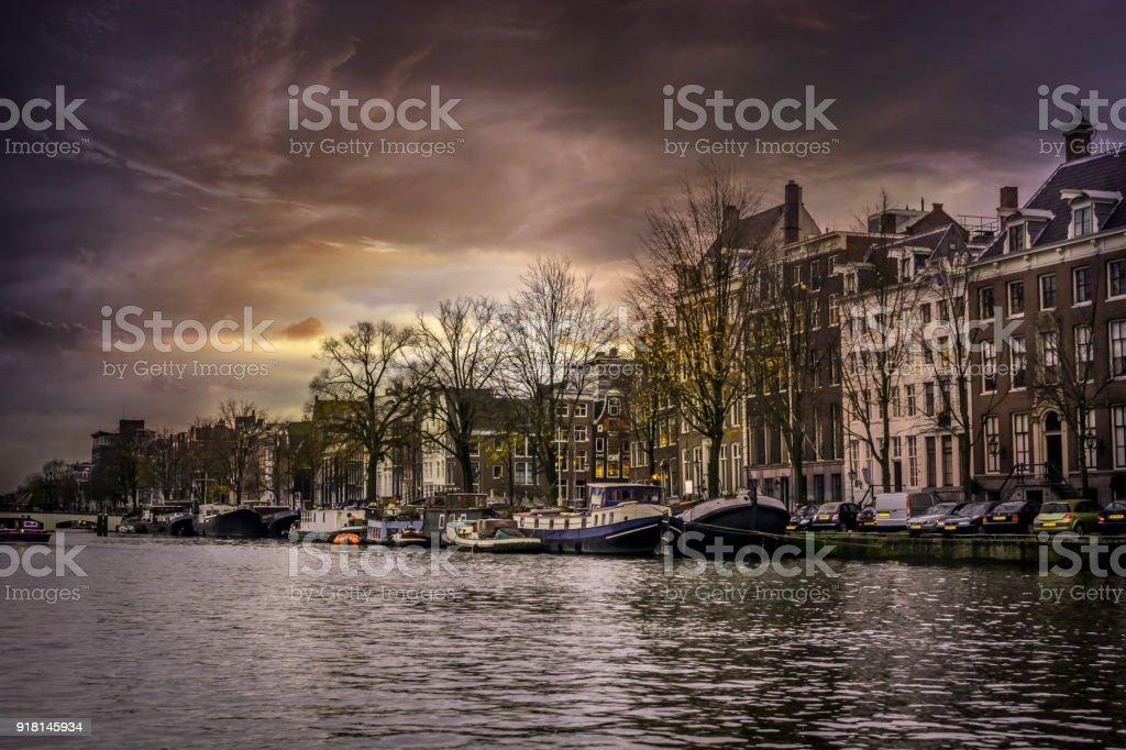 European Cities - Holland Amsterdam stock photo