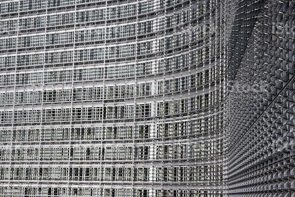 Europäische Kommission in Brüssel Lizenzfreies stock-foto