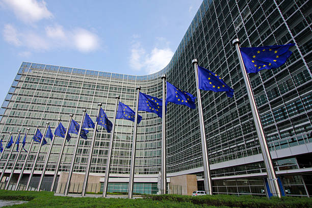 European Commission in Brussels  berlaymont stock pictures, royalty-free photos & images