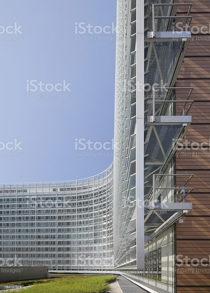European Commission in Brussels royalty-free stock photo