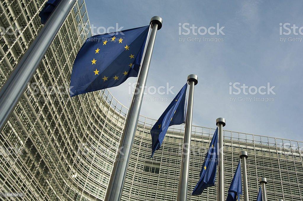 European Commission royalty-free stock photo