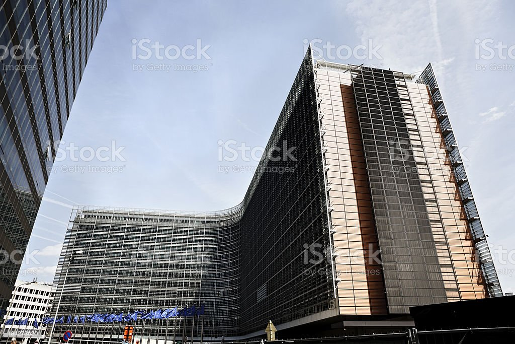 European Commission royalty-free stock photo