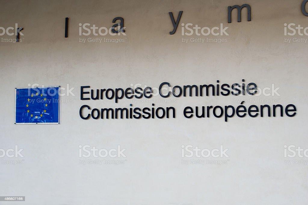 Comisión Europea - foto de stock