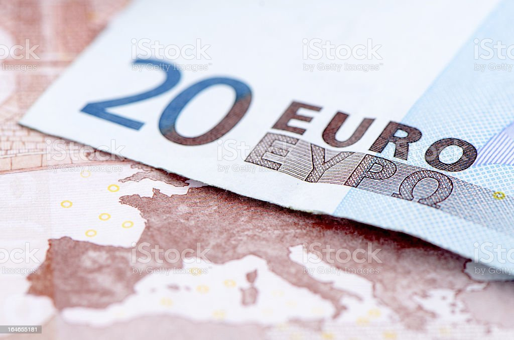 European Currency. royalty-free stock photo