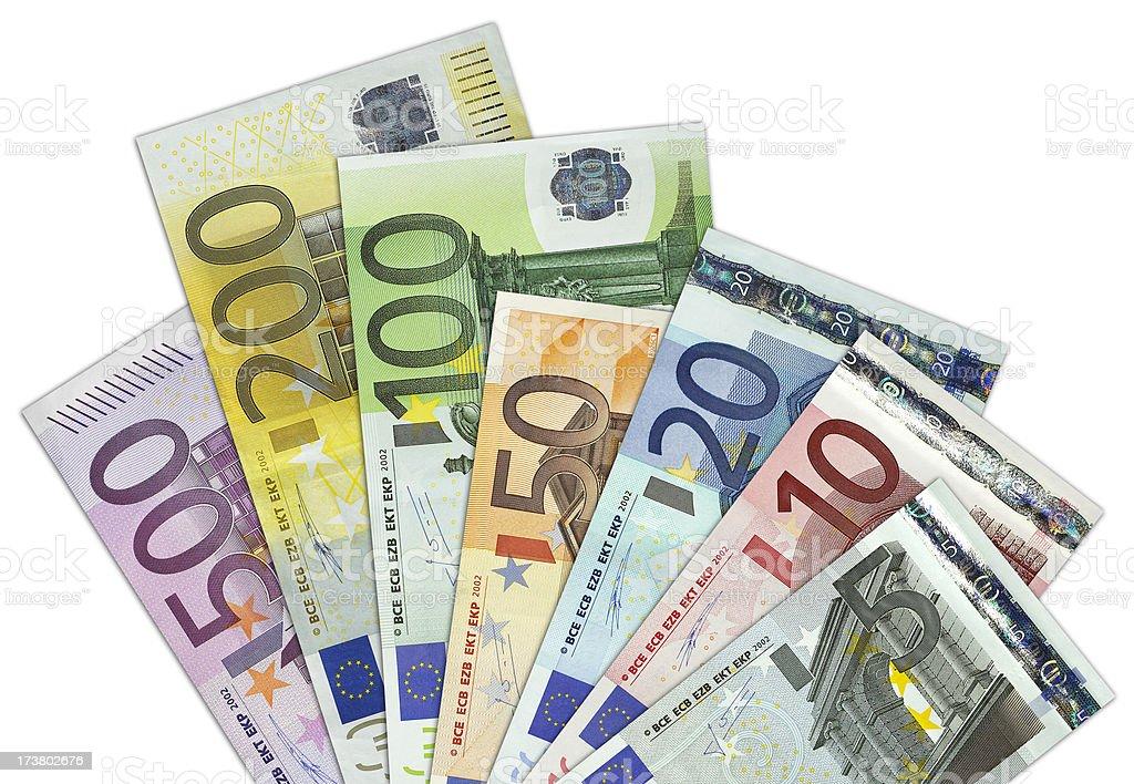 Europäische Währung Lizenzfreies stock-foto