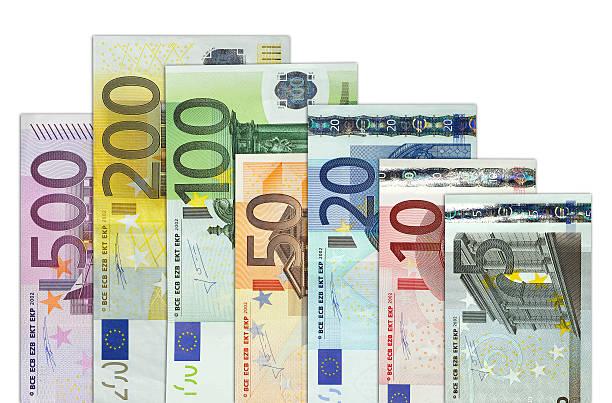Moneda europea - foto de stock
