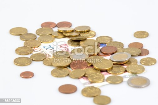 European Currency Stock Photo & More Pictures of Close-up