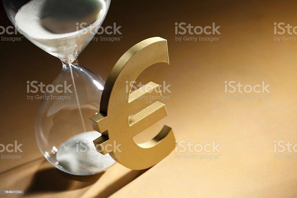 European Debt Crisis royalty-free stock photo