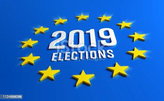 1126684642 istock photo European elections 2019 1124696098