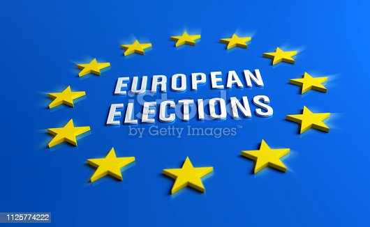 1126684642 istock photo European elections banner 1125774222