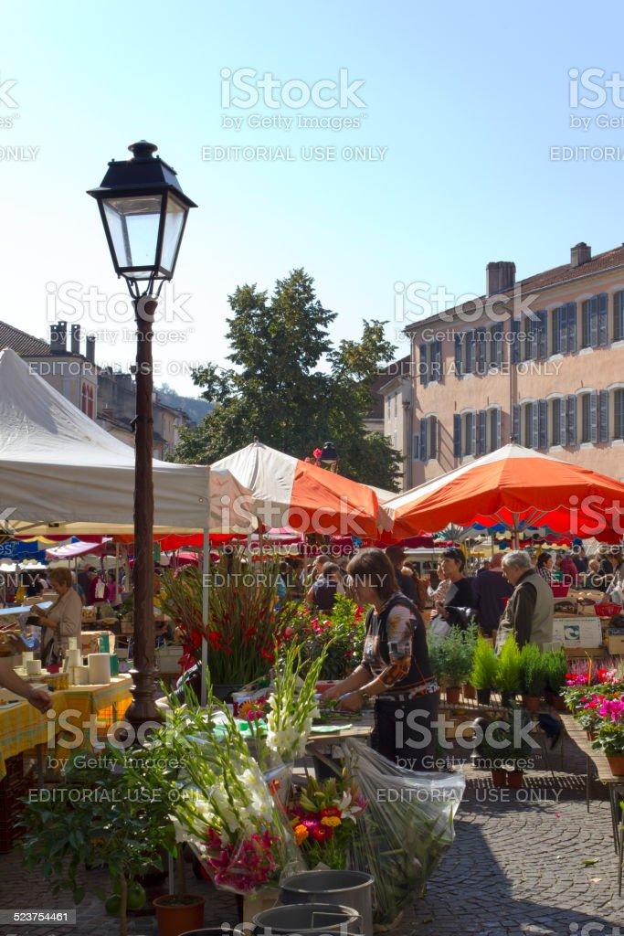European Farmer Markets stock photo