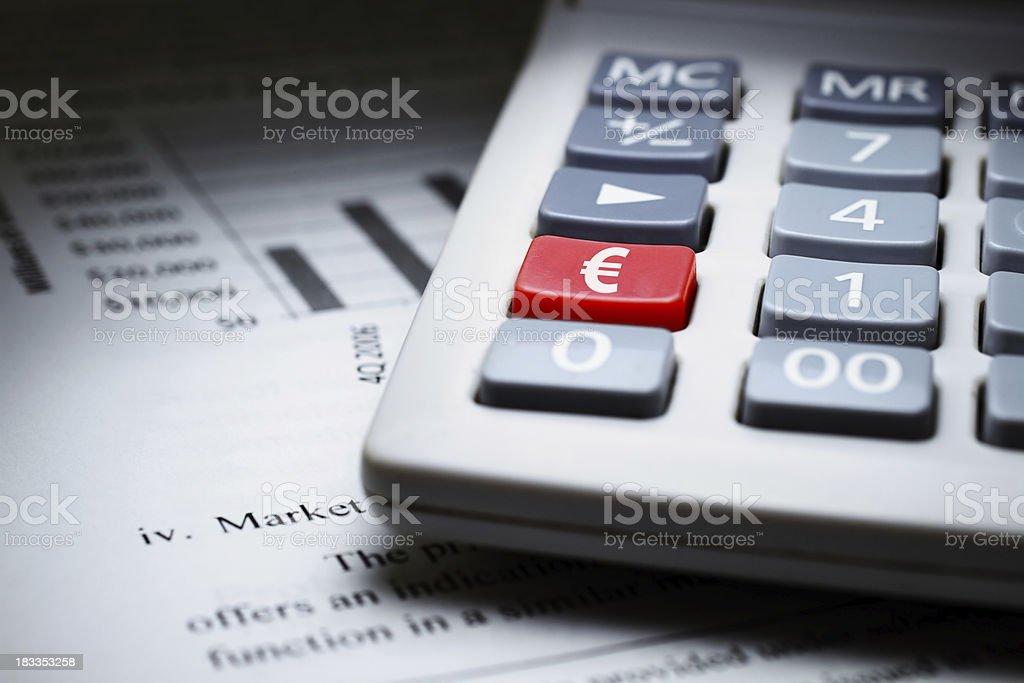 European finance royalty-free stock photo