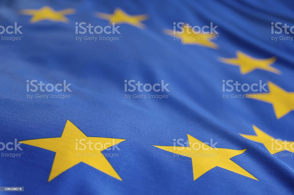 European flag royalty-free stock photo