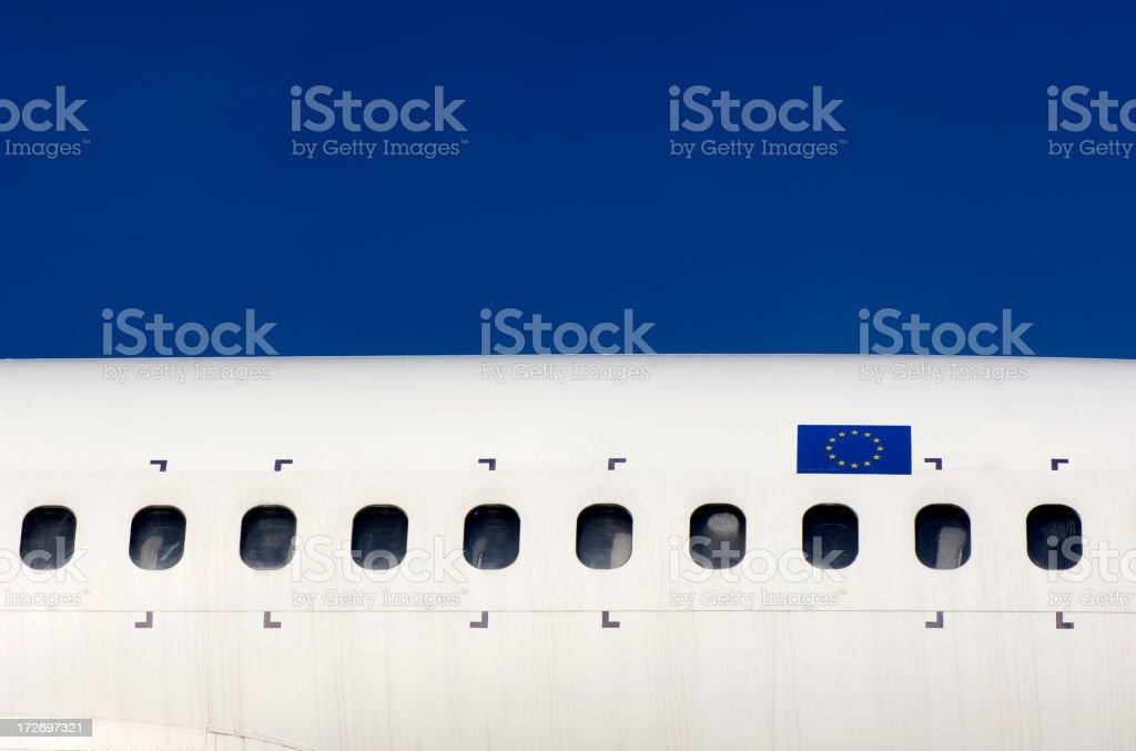 European flag royalty-free stock photo