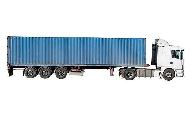 Royalty Free Semi Truck Side Pictures, Images and Stock Photos - iStock