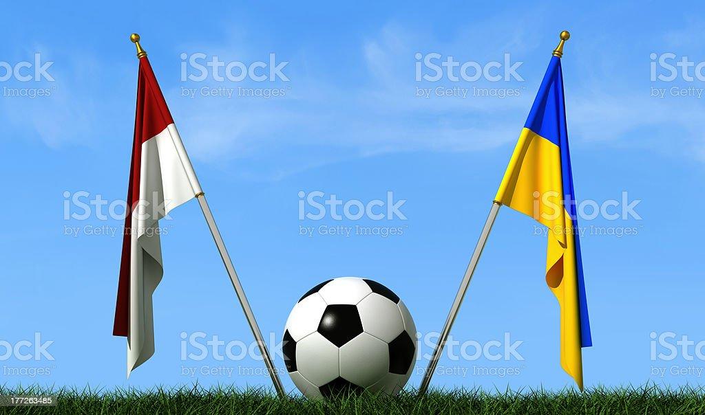 European football championship concept royalty-free stock photo