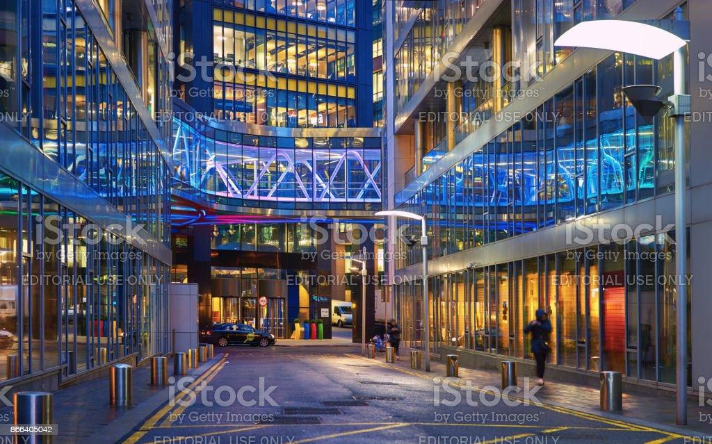 Elegant Europa Zentrale Von Google Auf Barrow Street, Dublin Lizenzfreies Stock Foto
