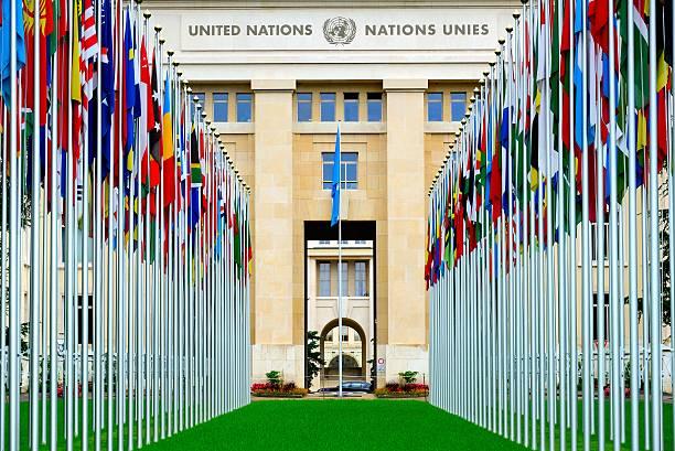 유럽 본사 of the united nations - united nations 뉴스 사진 이미지