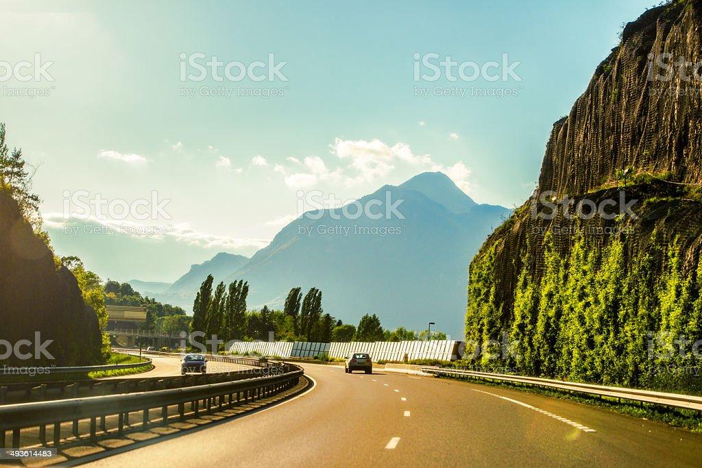 European Highway stock photo
