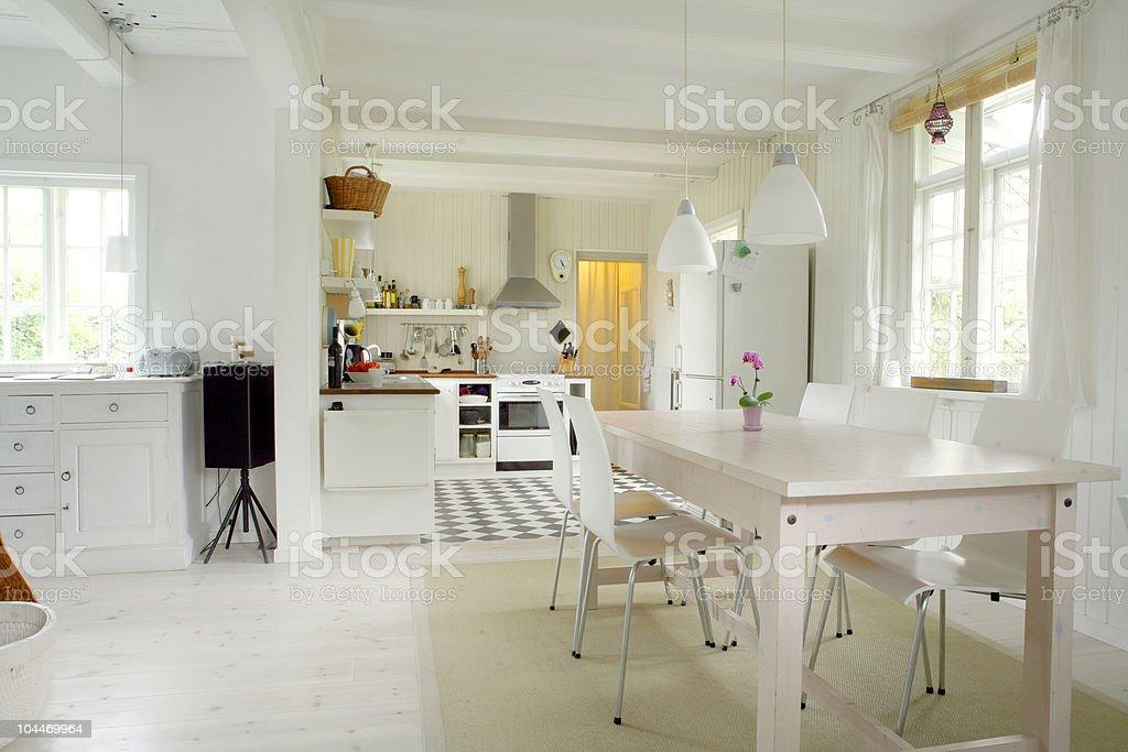 European house stock photo