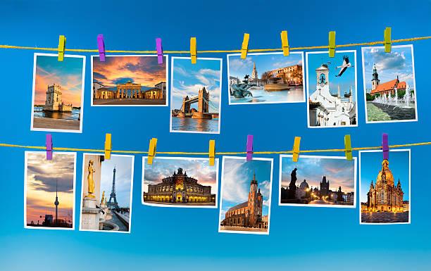 marcos europeia, colagem - montagem - fotografias e filmes do acervo