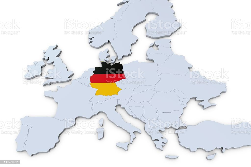 European map with germany highlighted stock photo more pictures european map with germany highlighted royalty free stock photo gumiabroncs Image collections