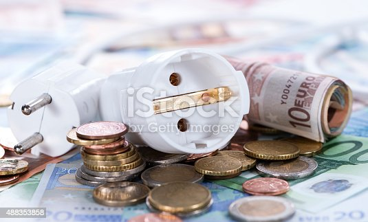 600401714istockphoto European money Energy concept 488353858