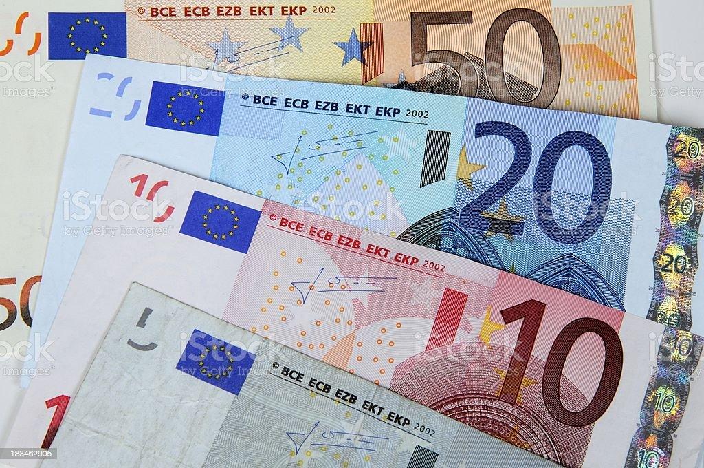 European money. royalty-free stock photo