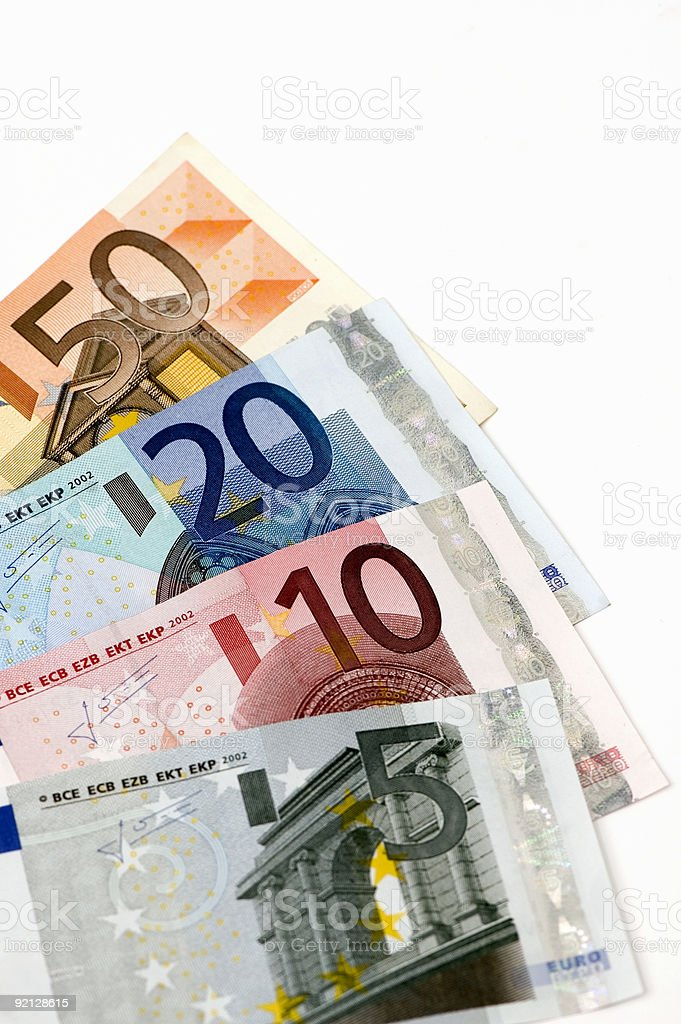 European Money royalty-free stock photo