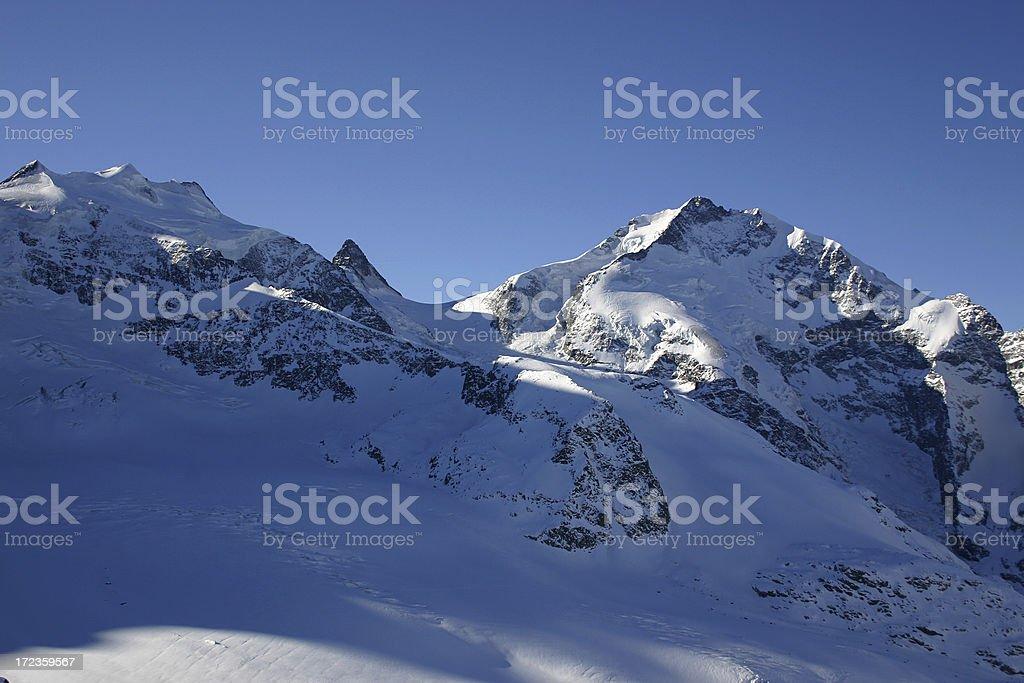 European Mountain snow royalty-free stock photo
