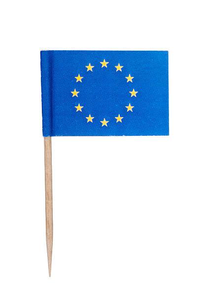 European paper flag foto