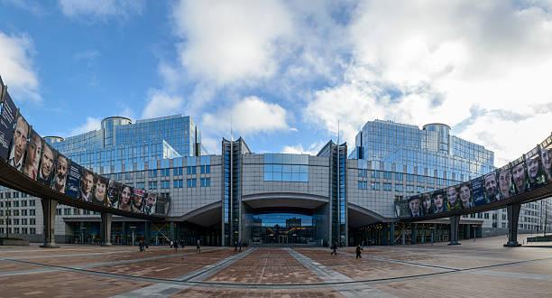 Parlamento Europeo - foto de stock