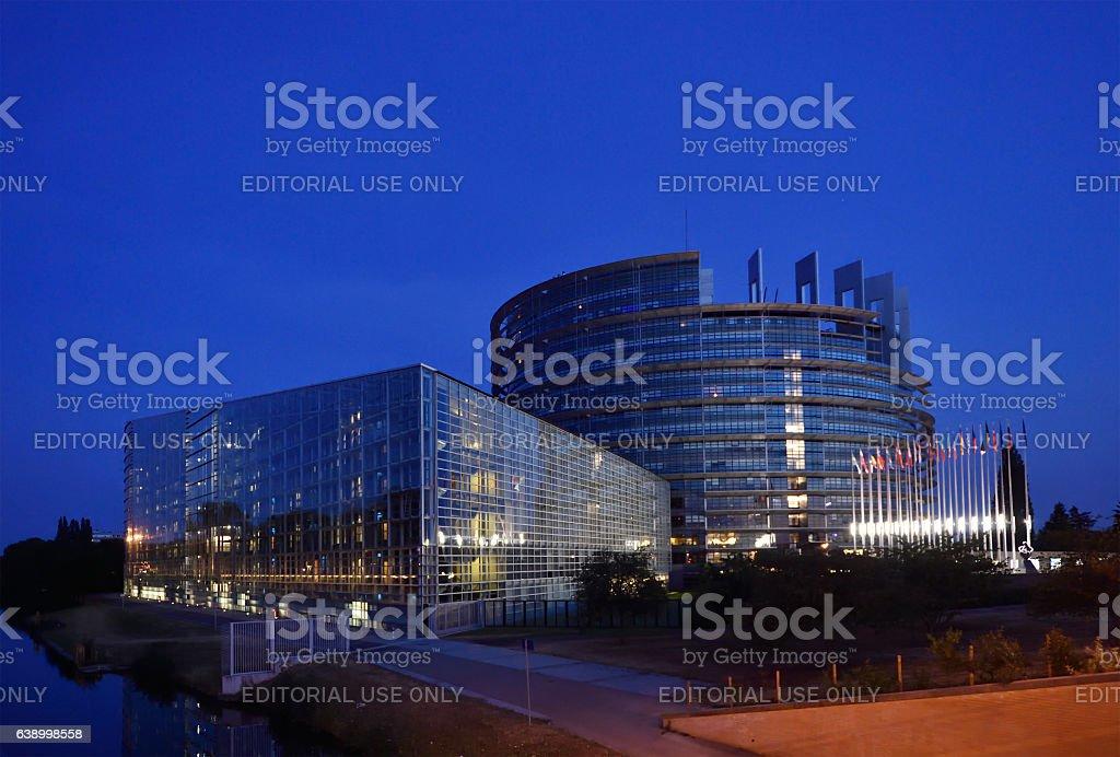Palazzo del parlamento europeo a strasburgo fotografie for Immagini del parlamento