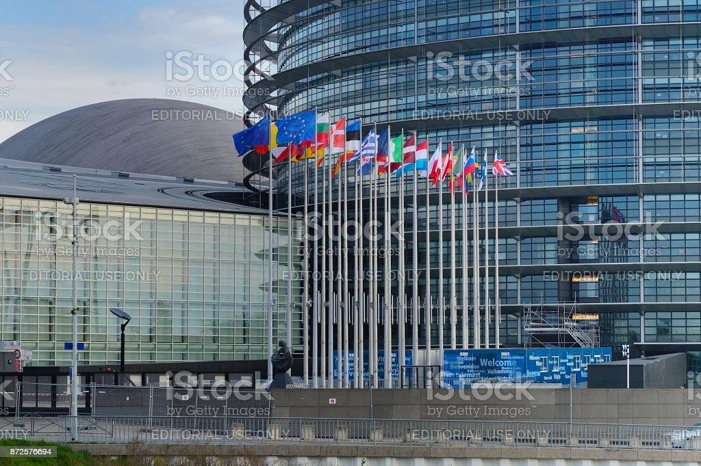 Sitz des Europäischen Parlaments – Foto